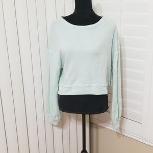 Melrose and market crop top sweater